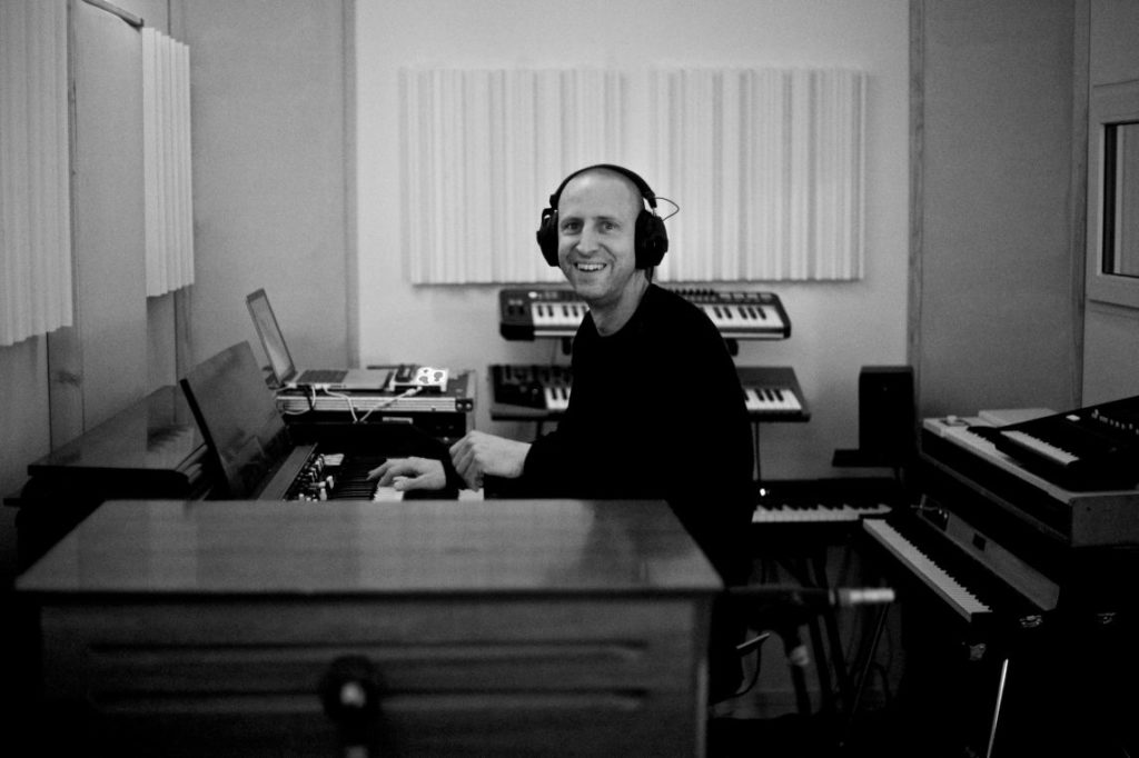 Fred Sauer from Hot Milk Crew at Hot Milk Studio